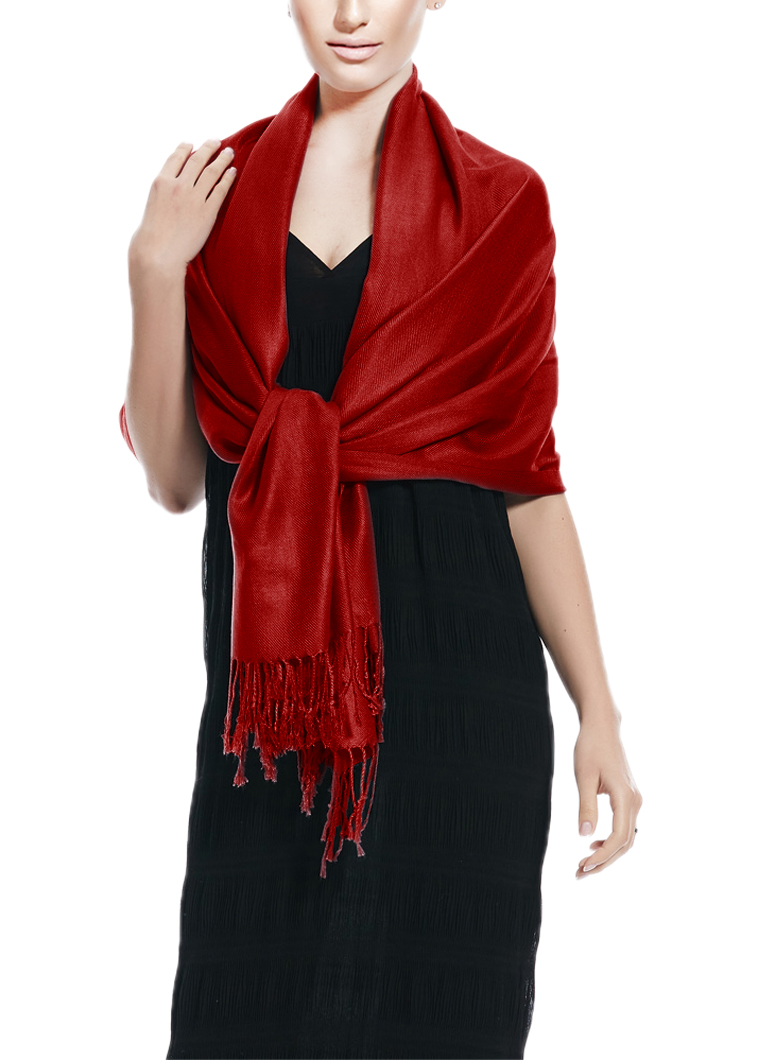 Wholesale Pashmina Solid Maroon Peach Couture