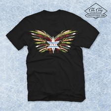 """Fearless Feathers"" T-shirt"