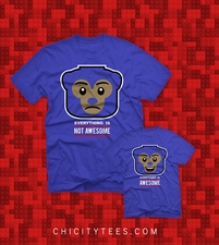 """Not AWESOME Cub"" T-shirt"