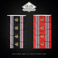 """Mad City"" Chicago 3' x 5' Limited Edition Hawkey Flag"