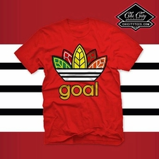 "Special -Limited- RED ""Goal"" T-shirt"