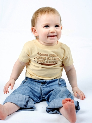 One Creative Mama baby t-shirt