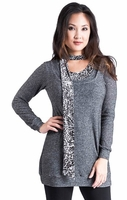 Tilda Knit Maternity & Nursing Tunic