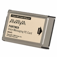 Avaya Partner ACS PVM Small Voicemail Card R3.0 (6108-547) Refurbished