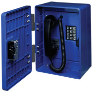 GAI-Tronics Hazardous Area Outdoor Phone Division 2 w/Spring Door Return