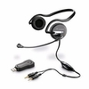 Plantronics .Audio 645 USB Behind-the-Head Stereo Headset New