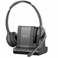 Plantronics SAVI W720 Binaural Wireless Headset New