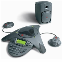 Polycom Soundstation VTX 1000 Complete System New