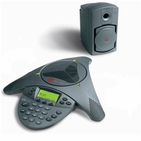 Polycom Soundstation VTX 1000 & Subwoofer New