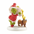 Dept 56 Grinch Village Next He Loaded Some Bags Figurine