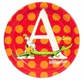 "Dr. Seuss ABC 7"" Dessert Plates 8 Pack"