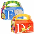 Dr. Seuss ABC Empty Favor Boxes 4 Pack