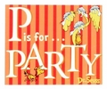 Dr. Seuss ABC Party Invitations 8 Pack