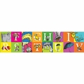Dr. Seuss ABC Squares Extra Wide Deco Trim
