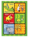 Dr. Seuss ABC Sticker Sheets 4 Pack