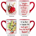 Dr. Seuss Cat in the Hat and Grinch Mugs Set of 2