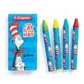 Dr. Seuss Cat in the Hat Crayons 12 Pack