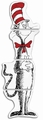 Dr. Seuss Cat In The Hat Giant Cut-Out Panel