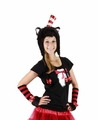 Dr. Seuss Cat in the Hat Hoodie Hat