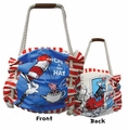 Dr. Seuss Cat in the Hat Large Tote Bag
