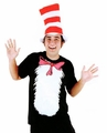 Dr. Seuss Cat in the Hat Short Sleeved Adult T-Shirt Kit