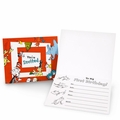Dr. Seuss Classic 1st Birthday Party Invitations 8 Pack