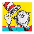 Dr. Seuss Classic Book Characters Dessert Napkins 20 Pack
