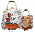 Dr. Seuss Fox in Socks Large Tote Bag