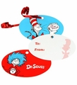 Dr. Seuss Gift Tags 8 Pack