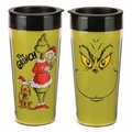 Dr. Seuss Grinch 16 oz. Plastic Travel Mug