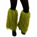 Dr. Seuss Grinch Fuzzy Leg Warmers *COUPON*