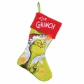 Dr. Seuss Grinch Large LED Christmas Stocking