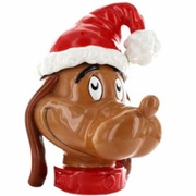 Dr. Seuss Grinch Max the Dog Cookie Jar