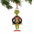Dr. Seuss Grinch Moose Sweater Ornament