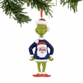 Dr. Seuss Grinch Santa Sweater Ornament