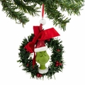 Dr. Seuss Grinch Sisal Wreath Ornament