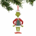 Dr. Seuss Grinch Tree Sweater Ornament