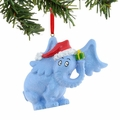 Dr. Seuss Horton has a Gift Glittered Ornament