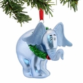 Dr. Seuss Horton with Wreath Glass Ornament