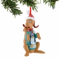 Dr. Seuss Max Penguin Sweater Ornament