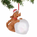 Dr. Seuss Max's Snowball Lit Ornament