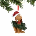 Dr. Seuss Max Wrapped in Wreaths Ornament