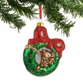 Dr. Seuss Max Wreath Glass Ornament