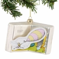 Dr. Seuss Oh, The Places You'll Go! Glass Book Ornament