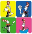 Dr. Seuss The Cat In The Hat Theme Stickers 120 Pack
