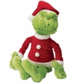 Dr. Seuss The Grinch in Santa Suit Plush 15""