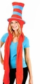 Dr. Seuss Thing 1 & 2 Hoodie Hat with Scarf