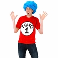 Dr. Seuss Thing 1 Adult Short Sleeved T-Shirt Kit