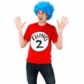 Dr. Seuss Thing 2 Adult Short Sleeved T-Shirt Kit