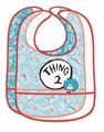 Dr. Seuss Thing 2 Two Piece EVA Bib Set